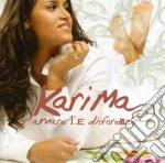 AMARE LE DIFFERENZE cd musicale di KARIMA