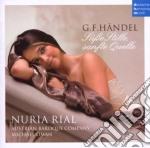 Nuria Rial - Handel - Arie Tedesche cd musicale di Nuria Rial