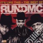 IT'S LIKE THIS - THE BEST OF RUN-DMC      cd musicale di Dmc Run