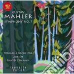 Mahler - sinfonia n.7 cd musicale di David Zinman