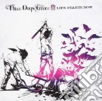 Three Days Grace - Life Starts Now cd musicale di Three days grace