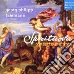 Concerto Melante - Telemann - Sonate Per Archi cd musicale di Melante Concerto