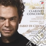 Mozart-cto clarinetto+sinf.conc.oboe,cla cd musicale di Fabio Di casola