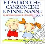 Filastrocche Canzoncine Ninne Nanne #01 2010 cd musicale di ARTISTI VARI