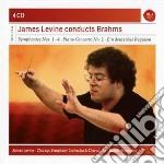 Brahms: sinfonie(complete)/concerto per cd musicale di James Levine