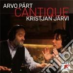 Part - Cantique - Christian Jarvi cd musicale di Christian Jarvi