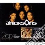 Destiny / triumph cd musicale di The Jacksons