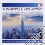 Gershwin - Rapsodia In Blu / Un Americano A Parigi - Leonard Bernstein cd musicale di Leonard Bernstein