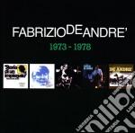 5 album originali 1973-1978 cd musicale di Fabrizio De Andrè