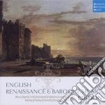 English renaissance and baroque music ed cd musicale di Artisti Vari