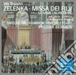 Zelenka: missa dei filii/litaniae lauret cd musicale di Frieder Bernius