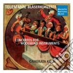 Telemann:concerti per fiati cd musicale di Koln Camerata