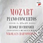 Mozart - Piano Concertos Nos.23&25 - Nikolau Harnoncourt cd musicale di Nikolau Harnoncourt