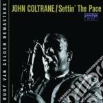 John Coltrane - Settin The Pace cd musicale di John Coltrane