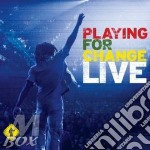 PLAYING FOR CHANGE LIVE CD+DVD            cd musicale di PLYING FOR CHANGE