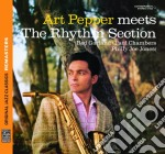 Art Pepper - Meets The Rhythm Section cd musicale di Art Pepper