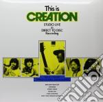 (LP VINILE) This is creation - studio live in direct lp vinile di Creation