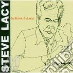 5 x monk, 5 x lacy cd musicale di Steve Lacy