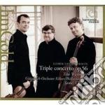 Beethoven Ludwig Van - Concerto Triplo Op.56  Egmont Op.84 cd musicale di Beethoven ludwig van