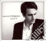 Baptiste Trotignon - Solo II cd musicale di TROTIGNON BAPTISTE