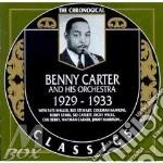 1929-1933 cd musicale di CARTER BENNY