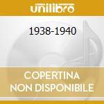 1938-1940 cd musicale di BECHET SIDNEY