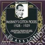 1928-1929 cd musicale di MCKINNEY'S COTTON PI