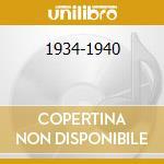 1934-1940 cd musicale di JIMMIE NOONE