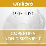 1947-1951 cd musicale di REINHARDT DJANGO