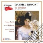 Songs (integrale): la pluie, chanson d'a cd musicale di Gabriel Dupont