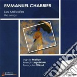 Songs (integrale) cd musicale di Emmanuel Chabrier