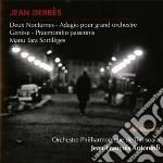 Derbes Jean - Due Notturni, Adagio Per Grande Orchestra, Genèse, Praemonitio Passionis cd musicale di Jean Derbes