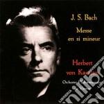 MESSA IN SI MINORE cd musicale di Bach j.s.\von karaja