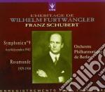 Brani Di Schubert: Sinfonia N.9, Rosamunda /berliner Philharmoniker cd musicale