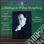 Mengelberg Willem Interpreta  - Mengelberg Willelm Dir  /orchestra Del Concertgebouw Di Amsterdam - Ciclo Ciaikovski Vol.2 cd musicale