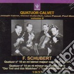 QUARTETTO CALVET VOL.2 cd musicale