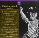 Munch Charles Vol.9 /ossy Renardy Vl, Orch. De La Societe' Des Concert, Orch. Del Concertgebouw cd musicale