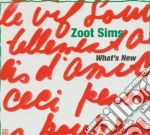 Zoot Sims - What's New cd musicale di Sims Zoot