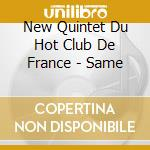NEW QUINTET U HOT CLUB DE FRANCE cd musicale di NEW QUINTET DU HOT C