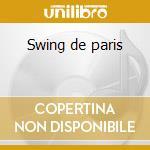 Swing de paris cd musicale di Django Reinhardt