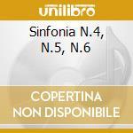 SINFONIA N.4, N.5, N.6 cd musicale di Anton Bruckner