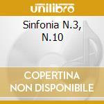SINFONIA N.3, N.10 cd musicale di Gustav Mahler