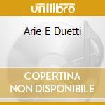 ARIE E DUETTI cd musicale di ANDERS PETER & JURIN