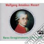 CONCERTOS & SYMPHONIES - RARES ENREGISTR cd musicale di Wolfgang Amadeus Mozart