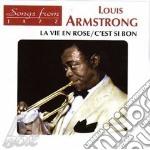 LA VIE EN ROSE/C'EST SI BON cd musicale di ARMSTRONG LOUIS