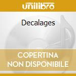 Decalages cd musicale di Francoise Hardy