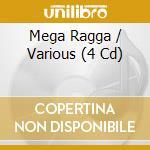 MEGA REGGA (4CD) cd musicale di ARTISTI VARI
