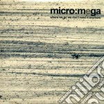 Micro:mega - Where We Go We Don't Need It Anymore cd musicale di MICRO:MEGA