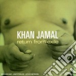 Khan Jamal - Return From Exile cd musicale di JAMAL KHAN