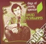 David Mcwilliams - Days Of Pearly Spencer cd musicale di MCWILLIAMS DAVID